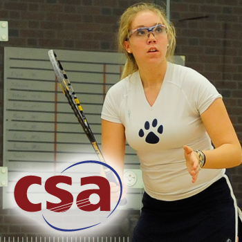 Squash Falls to Brown in Quarterfinal Round of National Championships