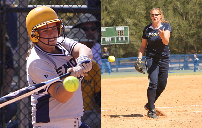Emory's Kardys & Light Earn Softball Academic All-America Honors