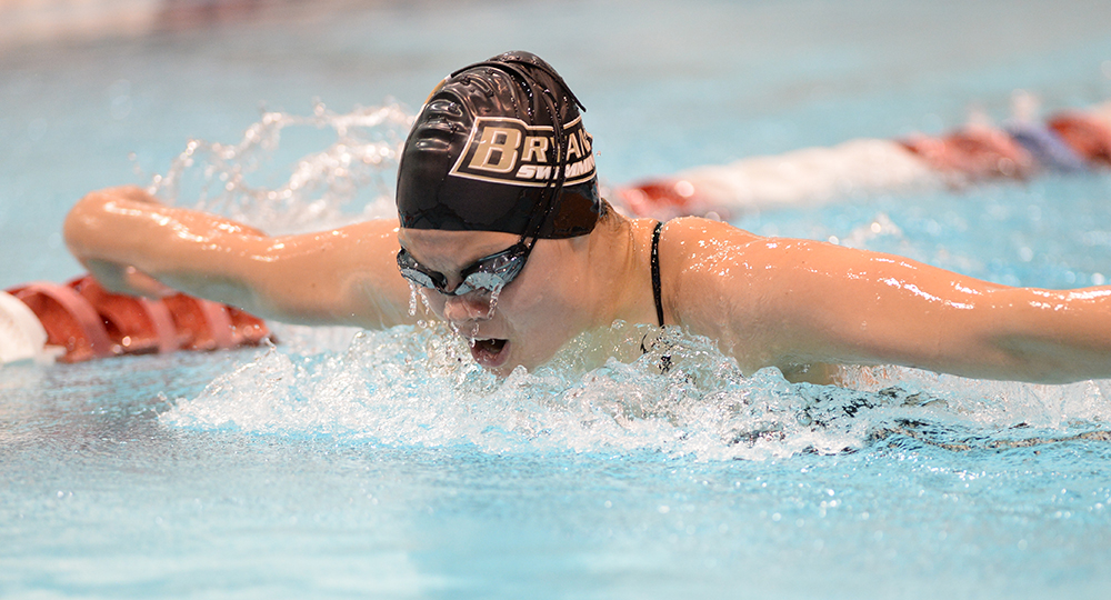 Svärd earns NEC, CollegeSwimming honors