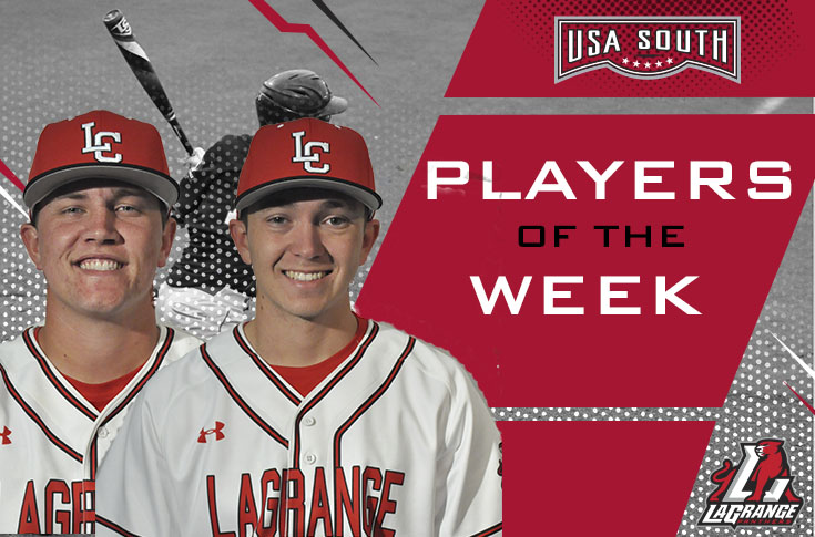 Baseball: Trey Pearce, Joe Ruth take weekly USA South honors
