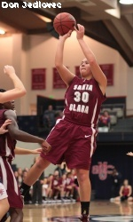 St. Mary's Women Drop WCC Rival Santa Clara