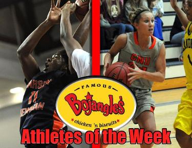 Brooks, Burtsrom bring home Bojangles' Athlete of the Week honors
