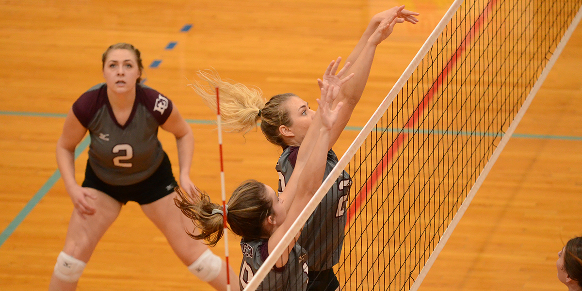Evangel Volleyball Outlasts Graceland in Heart First Round Victory