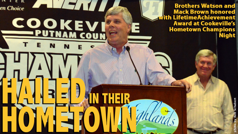 Browns receive Lifetime Achievement Award, Stallings and Henderson also honored