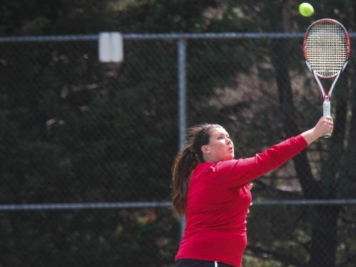 Women's Tennis Falls to Scranton in Landmark Championship