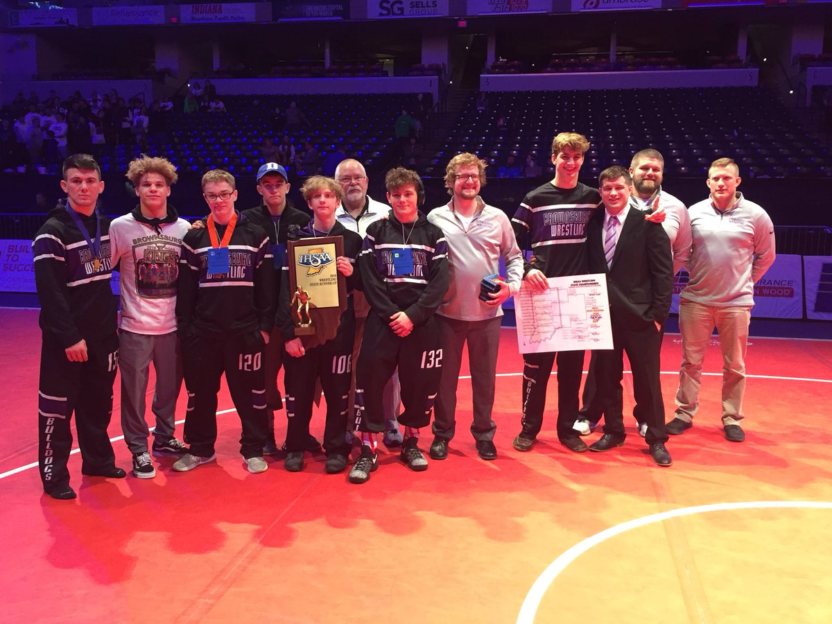 Bulldogs Place 2nd at IHSAA State Meeting
