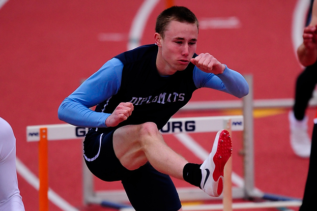 Men's Track Finishes Strong at West Chester Invitational