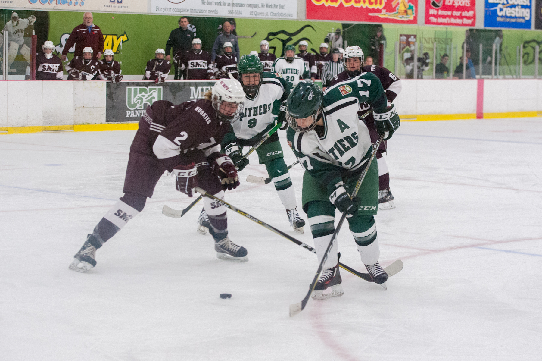 Huskies end UPEI's three-game win streak