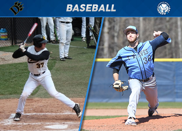 Northwood's Jandron, Ohio Dominican's Childers Clinch Final GLIAC Baseball Player of the Week Awards