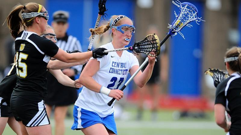 Women's Lacrosse Reaches NEC Tourney With Home Win