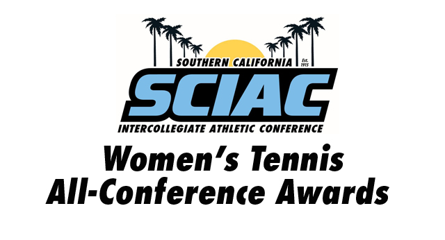 SCIAC Is Proud to Announce the Women's Tennis All-Conference Awards