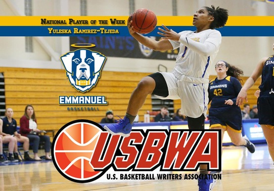 RAMIREZ-TEJEDA EARNS SECOND USBWA NATIONAL PLAYER OF THE WEEK HONOR