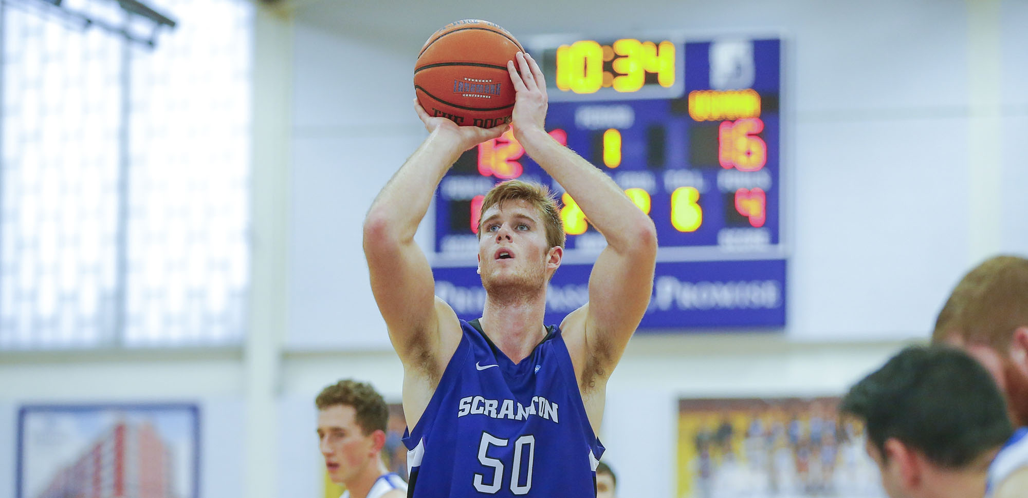 Senior center John Vitkus had 23 points and eight rebounds as the Royals picked up their fourth straight win on Wednesday night.