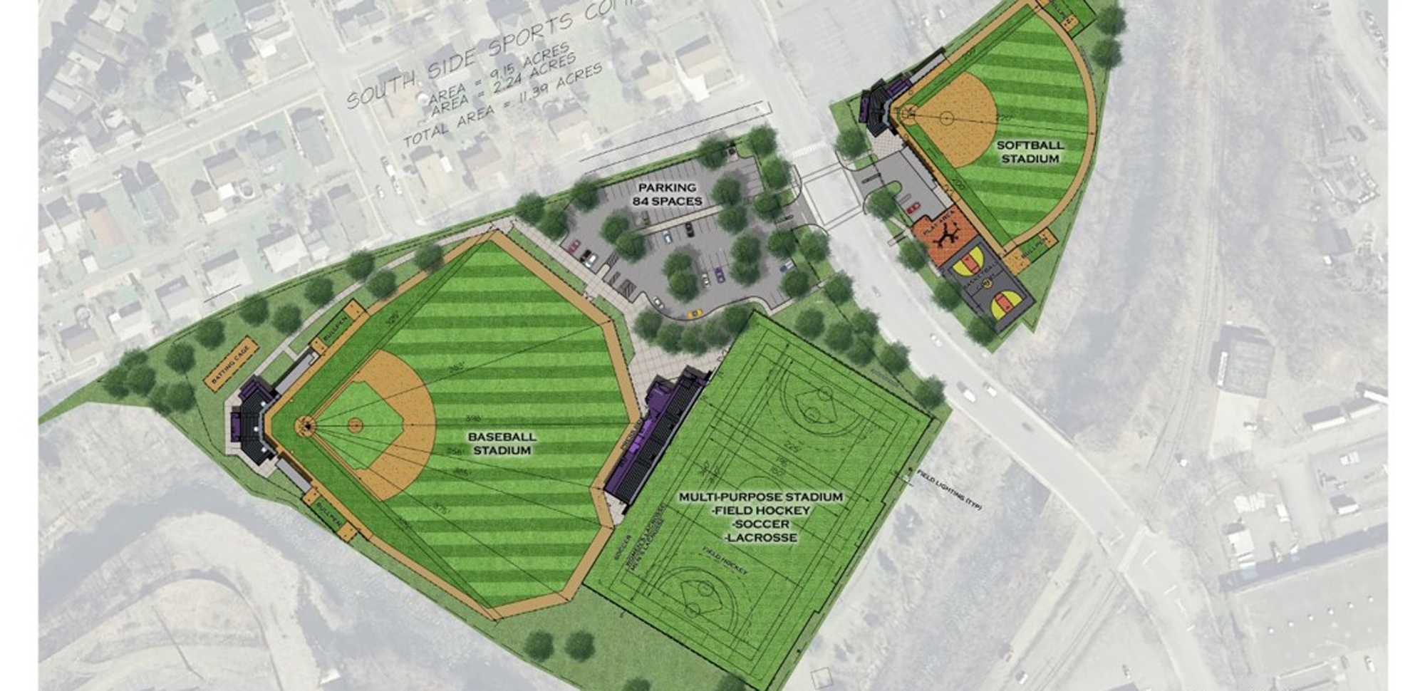 The University of Scranton Announces $14 Million Renovation of South Scranton Athletic Fields