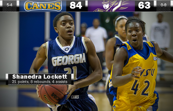 Lockett Leads The Lady 'Canes