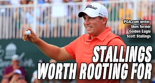 PGA.com: Scott Stallings gains a big fan through chance encounter