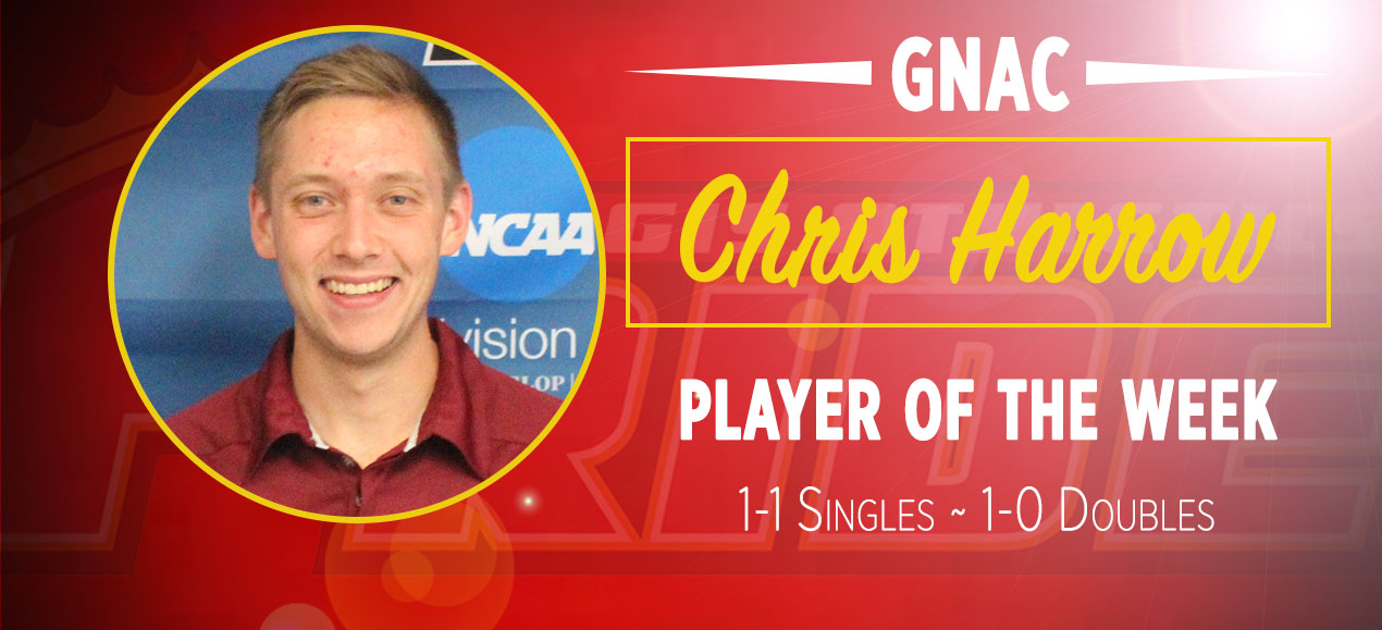 Harrow Named GNAC Player of the Week for Second Time