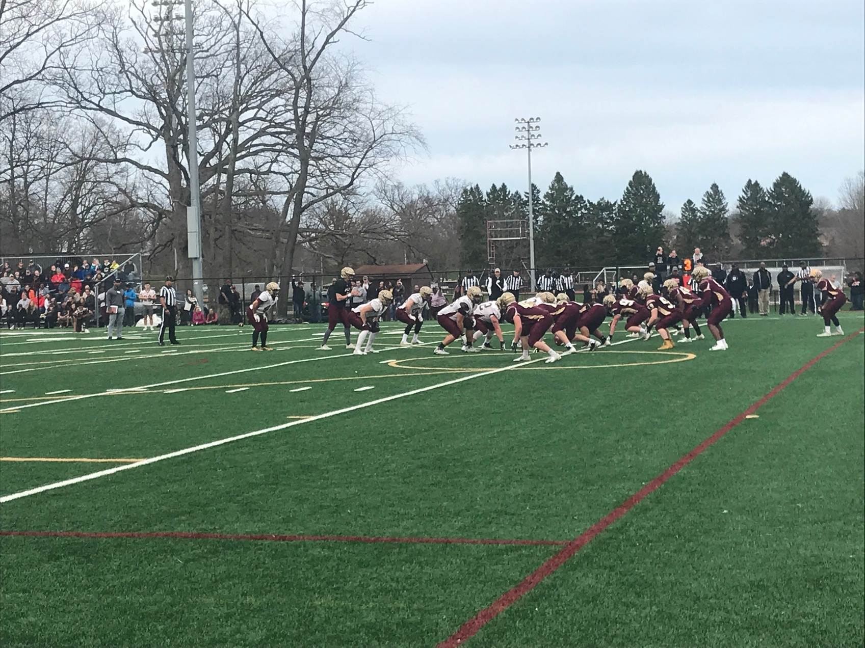 Maroon Tops White in Spring Game