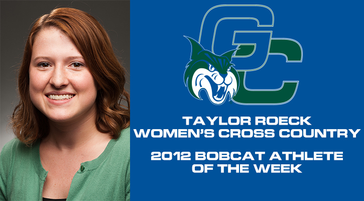 Roeck Takes Her Second Athlete of the Week Award