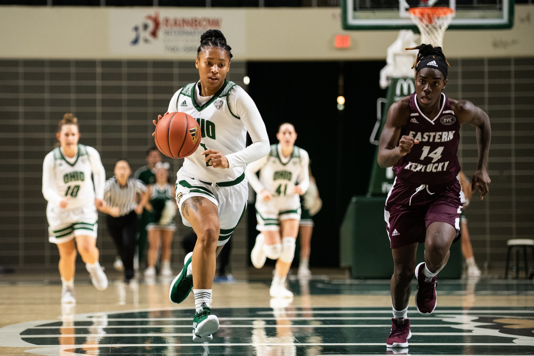 Ohio Women's Basketball Takes Down Buffalo in Overtime