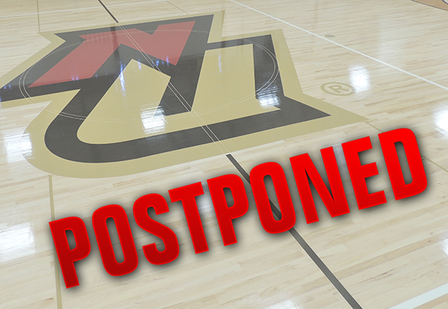 Basketball: Men's and Women's Games Postponed Due To Weather