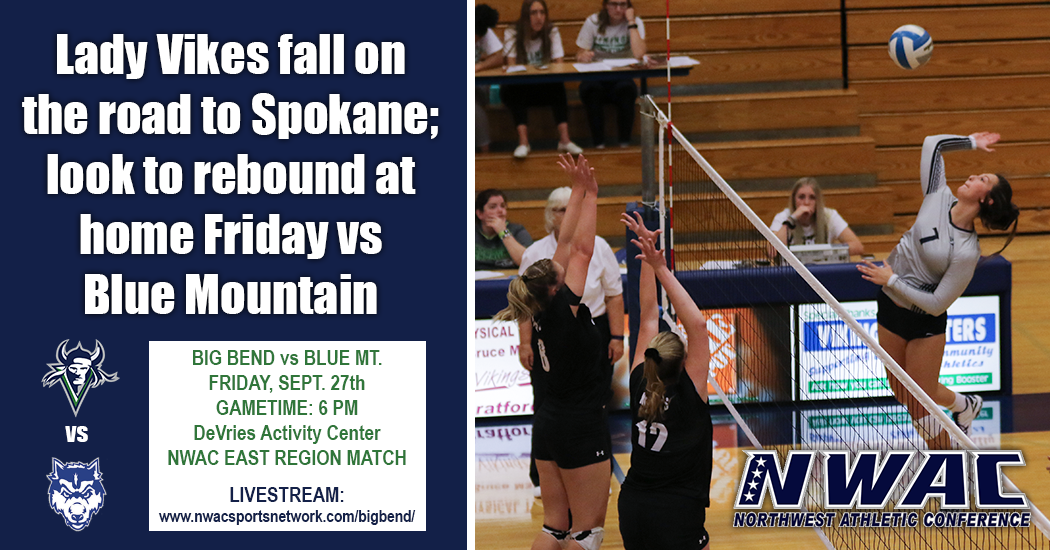 Lady Vikings fall on the road to Spokane. They will look to rebound Friday at home when they host Blue Mountain.