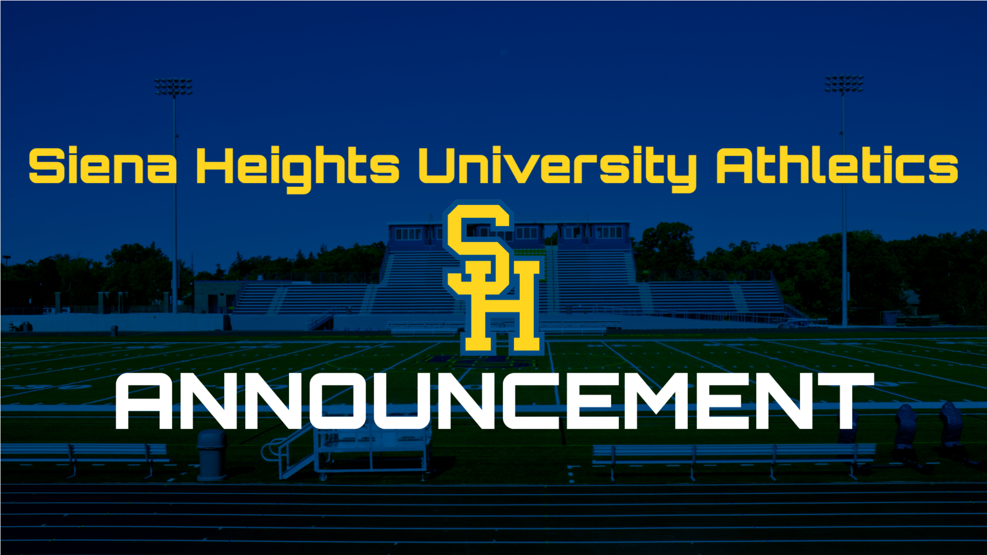 Siena Heights Pauses Athletics For Three Weeks In Adherence to Michigan DHHS Announcement on Sunday