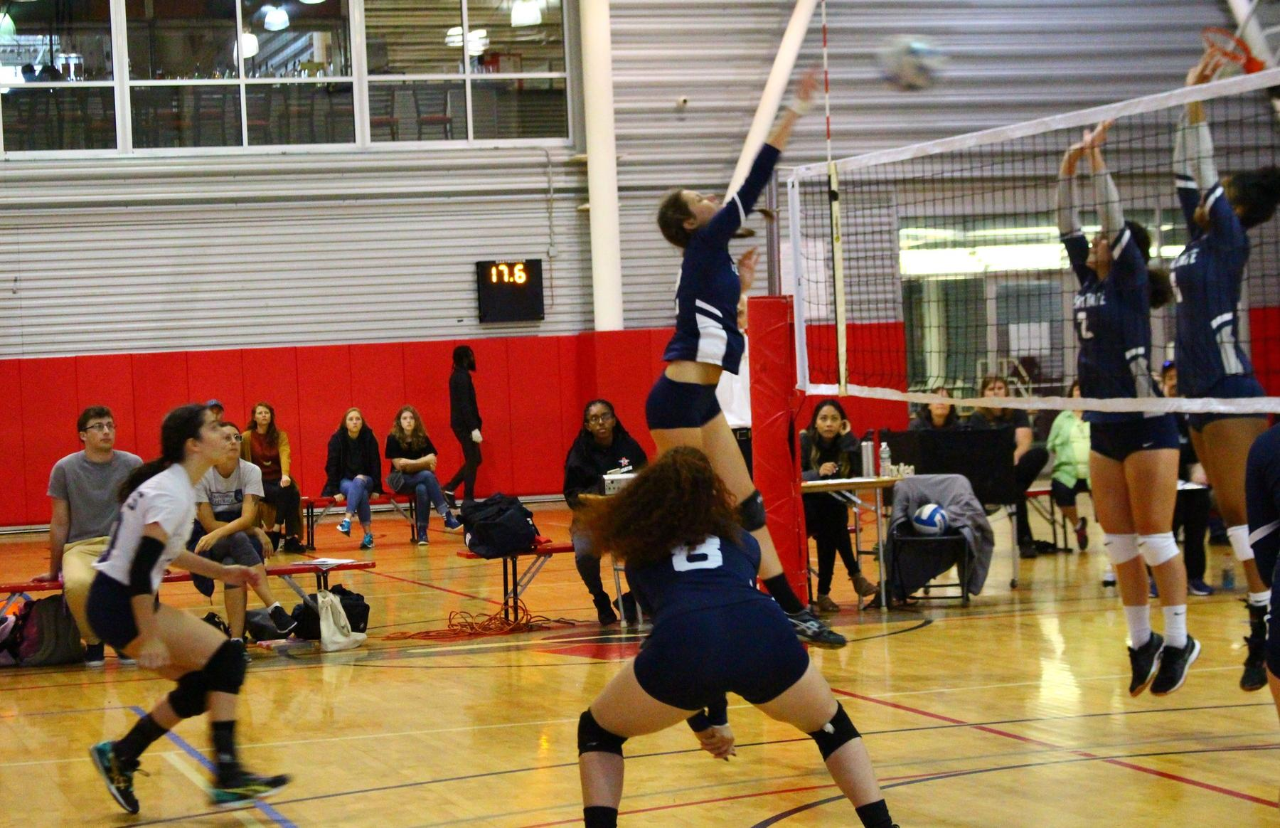 King's women's volleyball photo