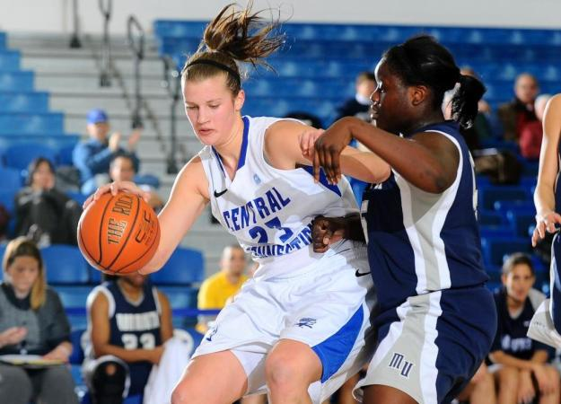 Women's Hoops Falls at Quinnipiac