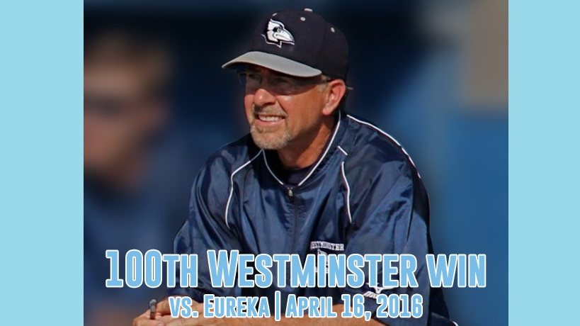 Westminster's Hughes Records 100th Career Coaching Win