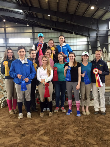 Intermont Equestrian IHSA Team Takes Second At Virginia Tech Saturday