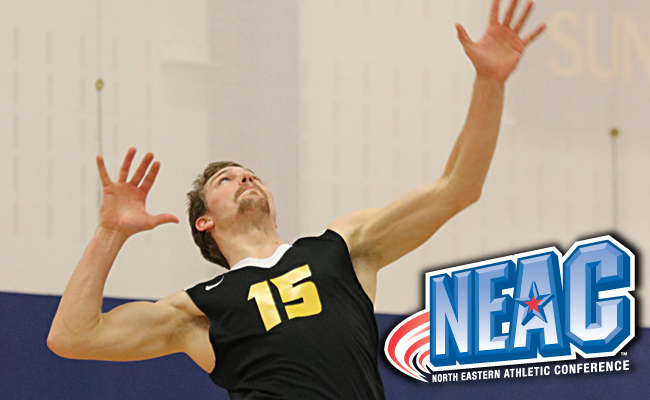 Connor Gail Named Men's Volleyball All-Conference