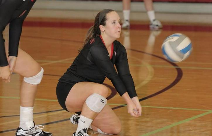 Volleyball Wins Twice to Remain Perfect