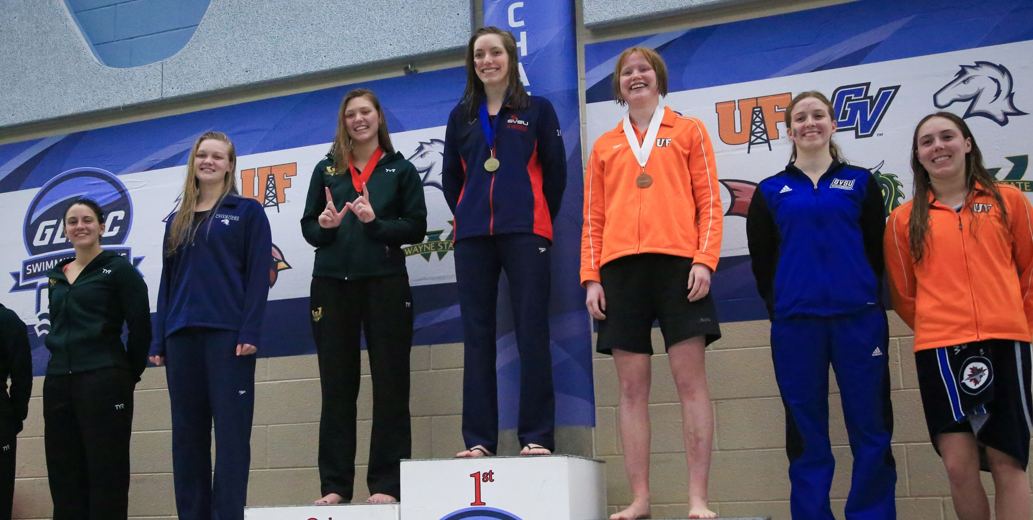 Lydia Mattar claimed SVSU's first ever GLIAC title in the 200 breaststroke in Saturday's final day of competition...