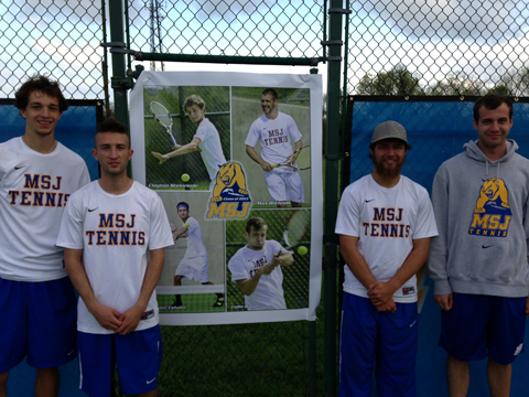 Mount men's tennis ends 2012-13 season play at home against Rose-Hulman