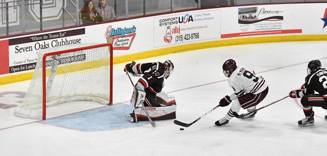 McCann Scores Twice, Colgate Ties Brown at Home