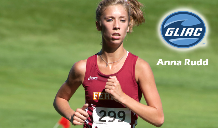 Anna Rudd Chosen As GLIAC Runner Of Week For Second Time This Season