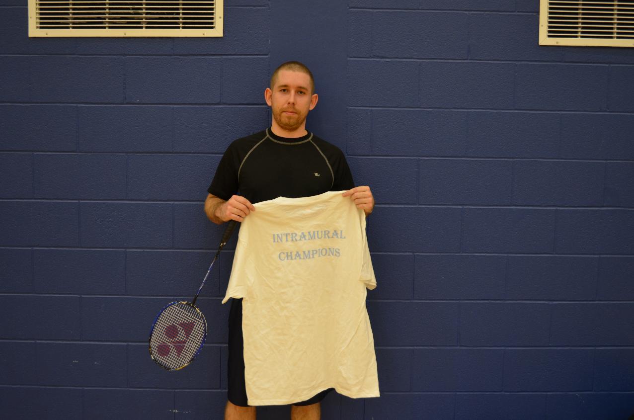 Photos: Intramural Badminton Fall 2014 - Niagara College