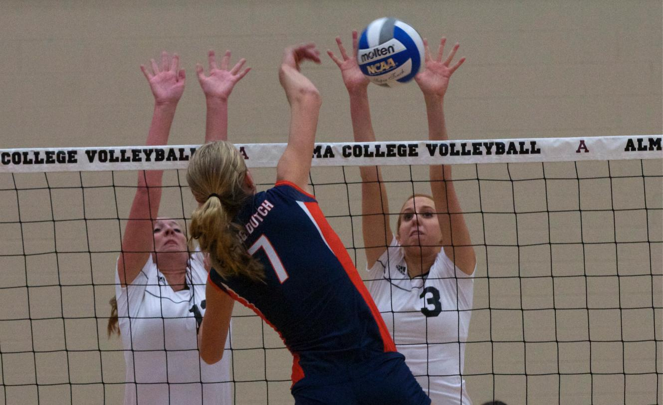 Volleyball loses to #2 Hope College 3-0 (18-25, 21-25, 19-25) on Friday night