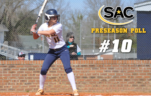 Coker Softball Ranked Tenth in Preseason Poll
