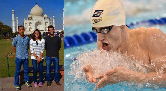 Elite Student-Athletes Team Up With Emory Mathematician Ken Ono For Swimming Study