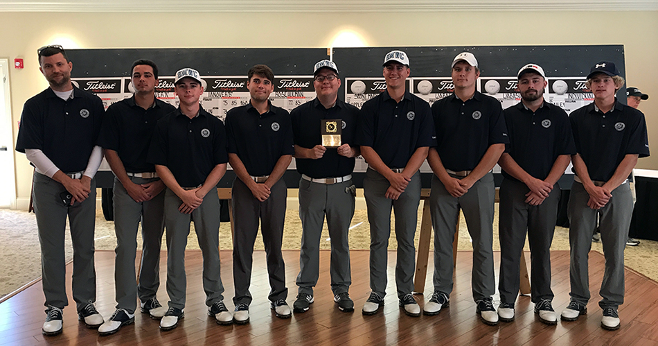 Pomeroy Men's Golf Comes in Second at Wabash Fall Classic