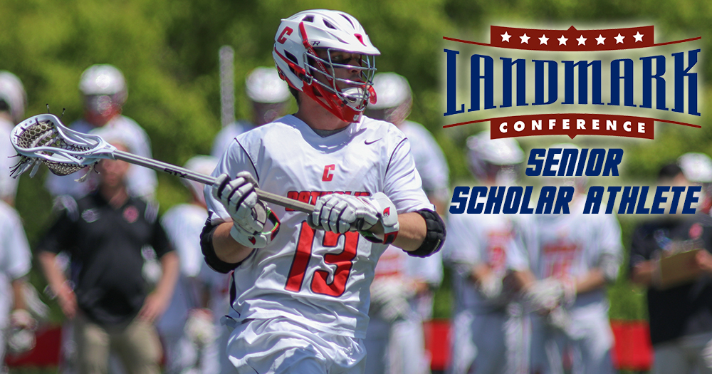 Bradley Voted Landmark Men's Lacrosse Senior Scholar Athlete