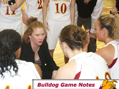 FSU head coach Tracey Dorow's team hosts two GLIAC opponents this week (Pioneer Photo)