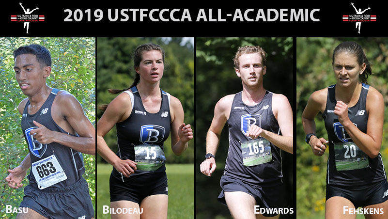 Four Bentley Cross Country Runners Receive Academic Honors from USTFCCCA