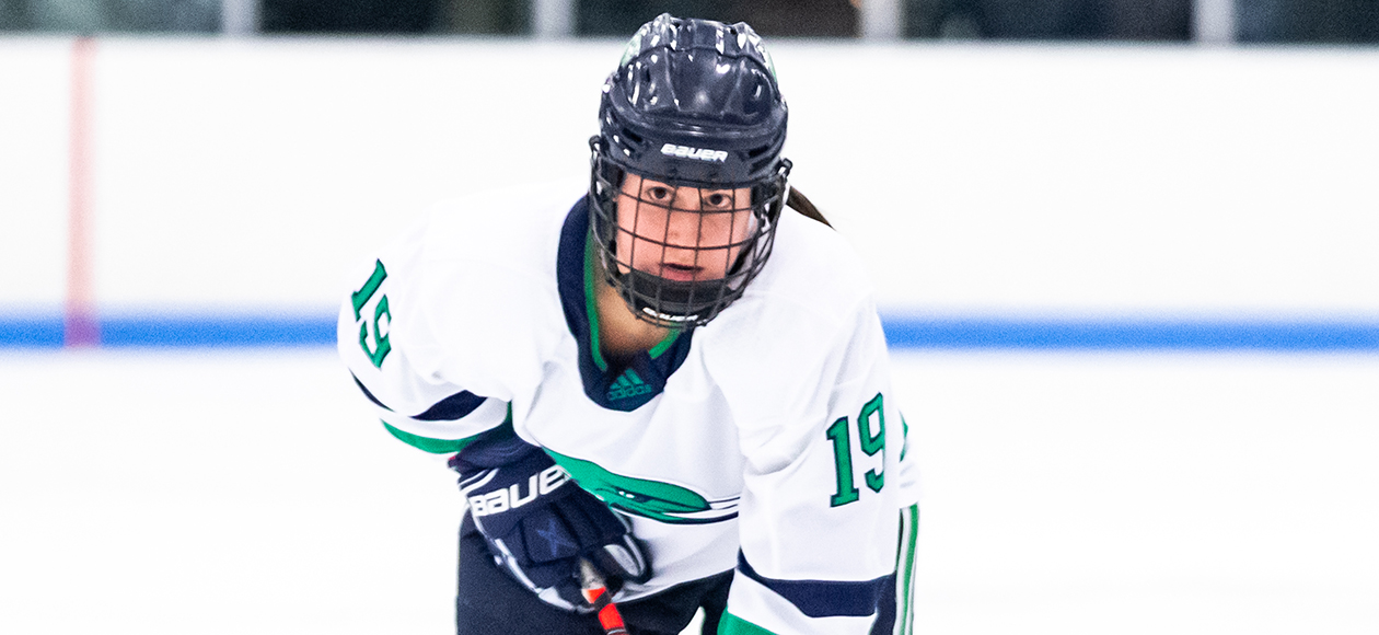 No. 9 Women's Ice Hockey Downs Nichols, 5-1