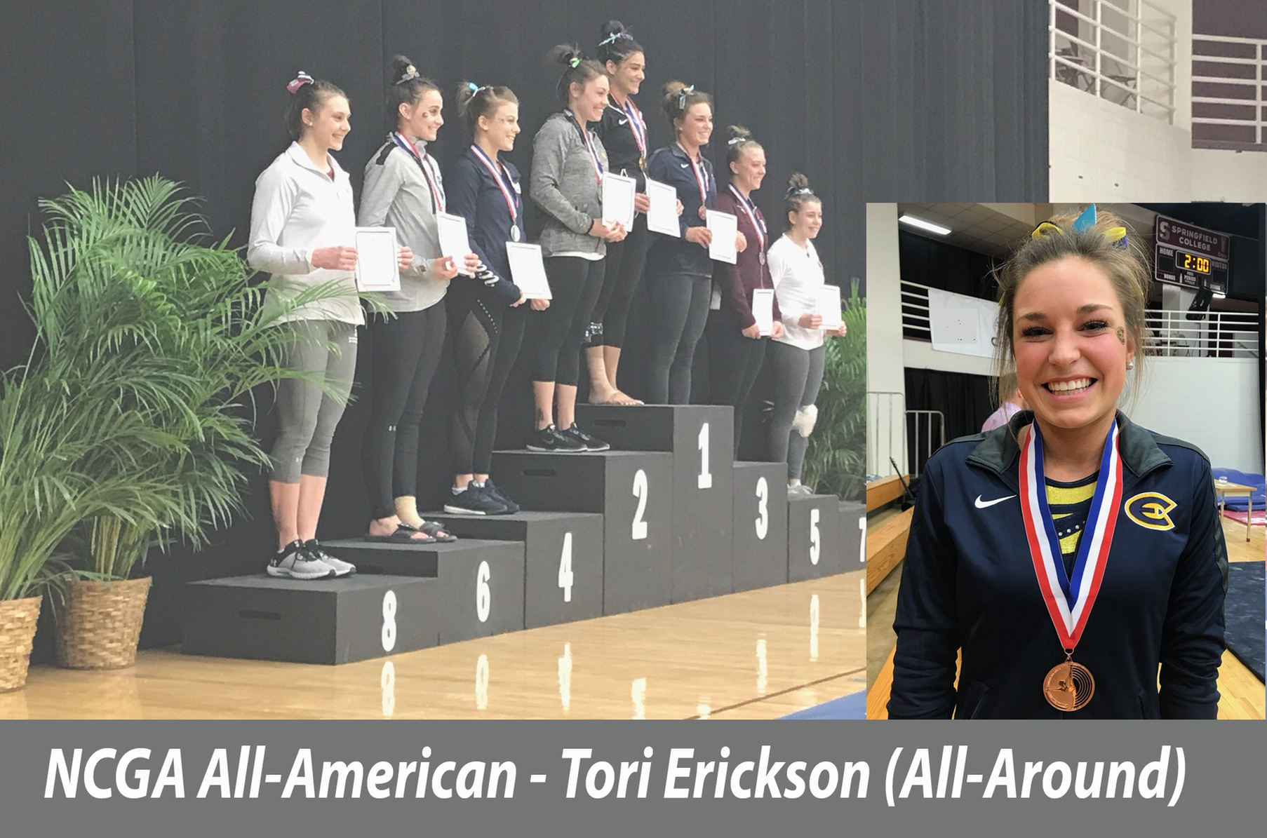 Erickson earns All-American honors at NCGA Championships