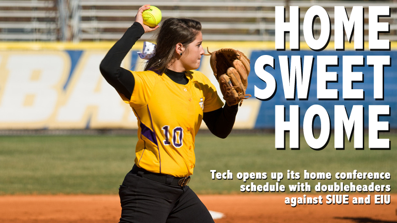 Softball gets set to host SIUE and EIU in first home conference action of the season