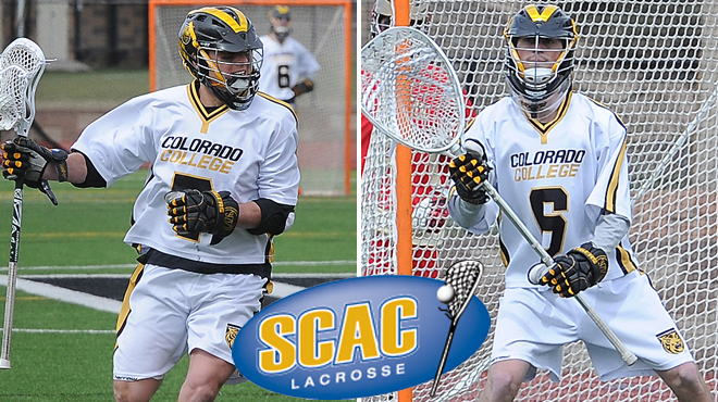 Colorado College's Kreitler, Murphy Named SCAC Men's Lacrosse Players of the Week