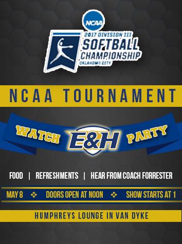 Emory & Henry Softball To Host Watch Party For NCAA Division III Tournament Announcement